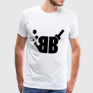 Big Bong Teori - Premium-T-shirt herr