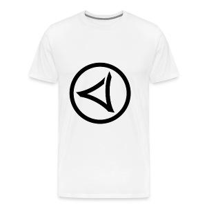 LOGO-VIRUS-RECORDS-IN-CYCLE - Koszulka męska Premium