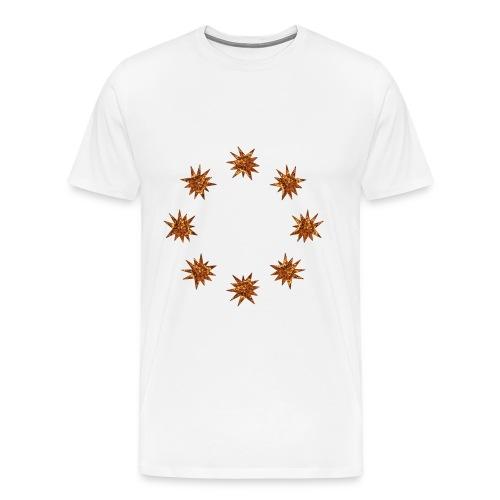 stelle dorate - Maglietta Premium da uomo
