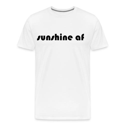 sunshine af - Männer Premium T-Shirt