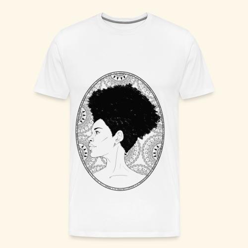afro-mandala - Maglietta Premium da uomo