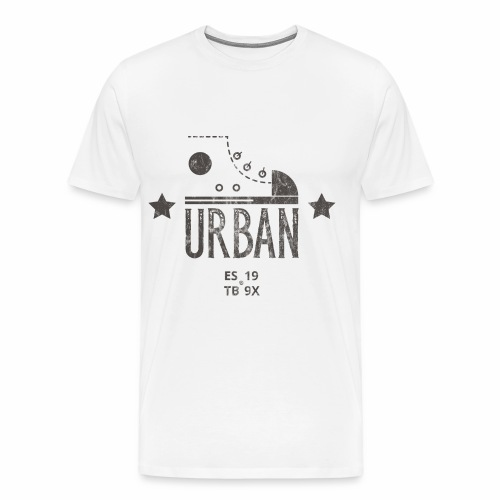 STREETBALL SNEAKER - Turnschuh Sport Shirt Motiv - Männer Premium T-Shirt