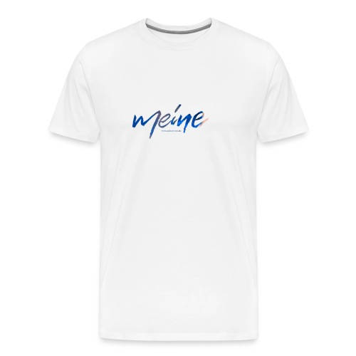 Meine Logo Blau - Männer Premium T-Shirt