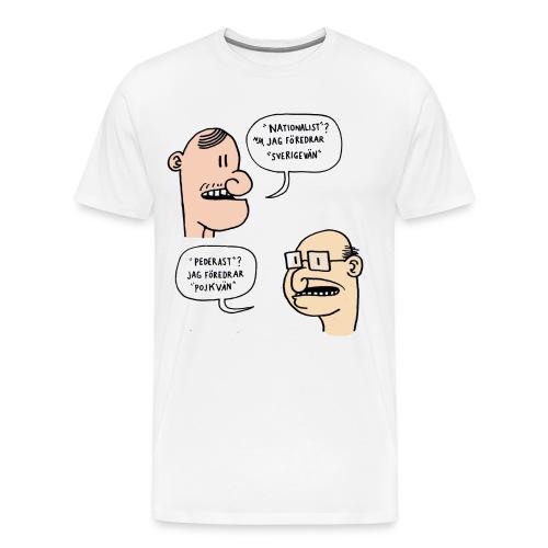 Pojkvän - Premium-T-shirt herr