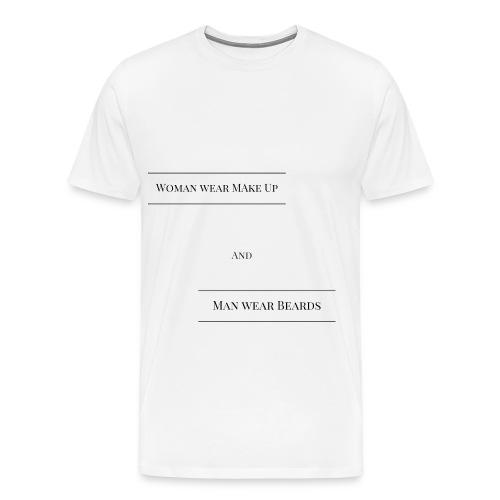 T-Shirt für Mann und Frau - Männer Premium T-Shirt