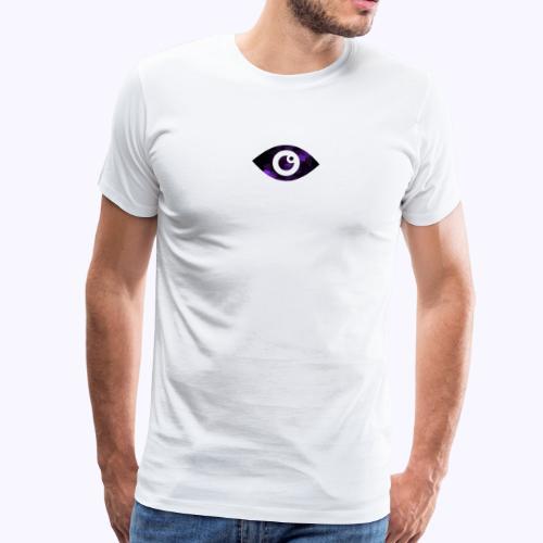 Occhio del destino viola - Maglietta Premium da uomo