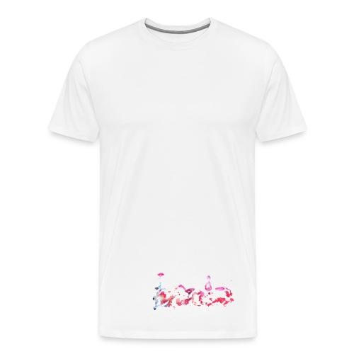 Aquarell Coachella Color 2 - Männer Premium T-Shirt