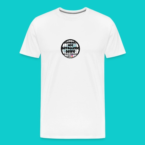 SchwarzwiegefalleneSeife - Männer Premium T-Shirt