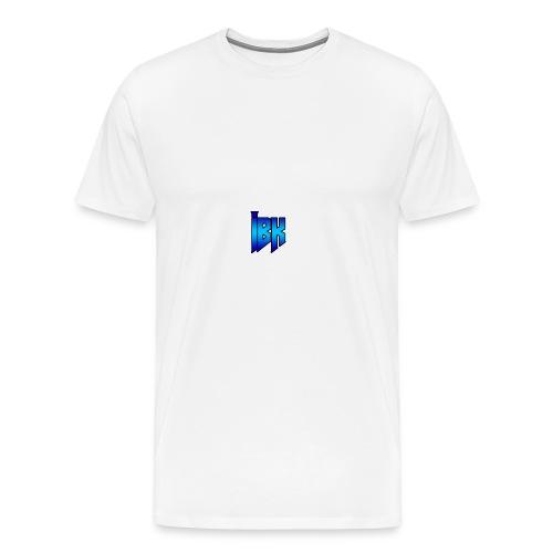 T-SHIRT MET LOGO OP - Mannen Premium T-shirt