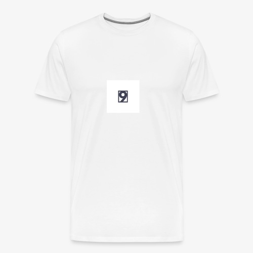 9 Clothing T SHIRT Logo - Men's Premium T-Shirt