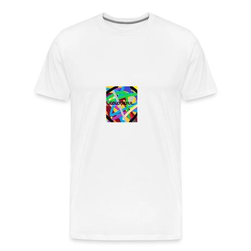 COLOURFUL - Männer Premium T-Shirt
