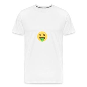 Dollar face - Premium T-skjorte for menn