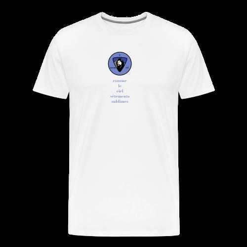 logo bleu - Men's Premium T-Shirt