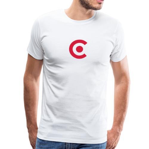 bullseye sailing class logo - Männer Premium T-Shirt