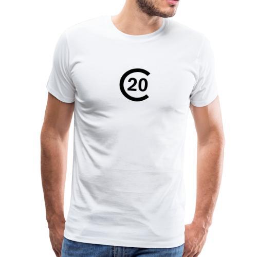 cal20 sailing class logo - Männer Premium T-Shirt
