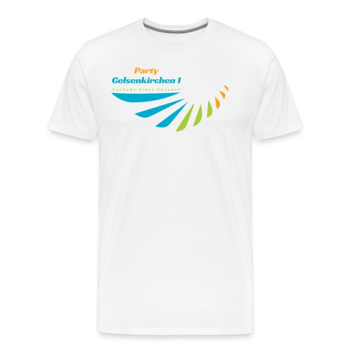 Banner Party Gelsenkirchen1 - Männer Premium T-Shirt