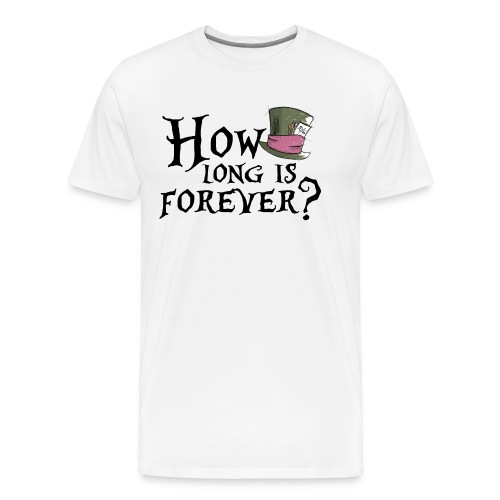 How long is forever? - Maglietta Premium da uomo