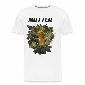 Mutter - Golden Grunge - Männer Premium T-Shirt