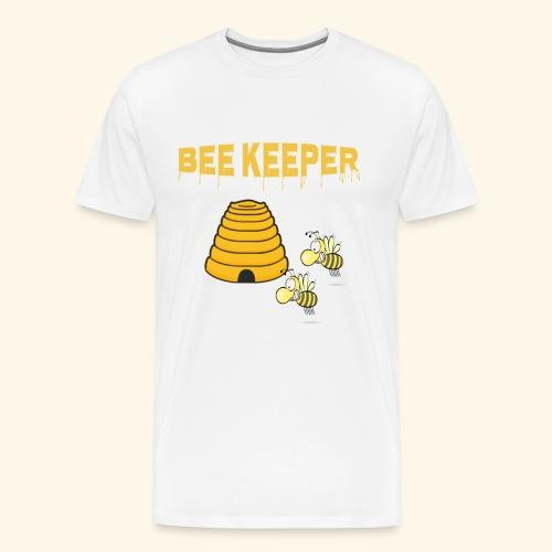 Bee Keeper Bienen Imker Tee Shirt - Männer Premium T-Shirt