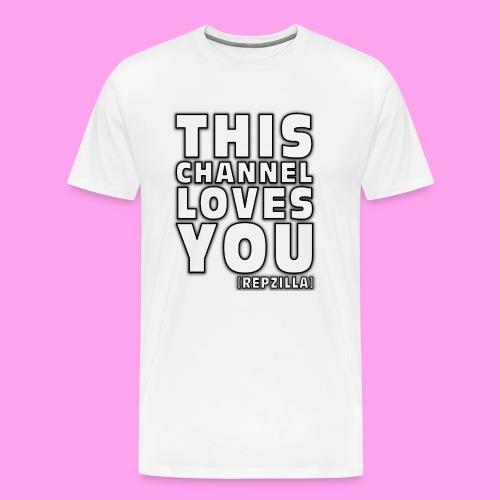 This Channel Loves You - Men's Premium T-Shirt