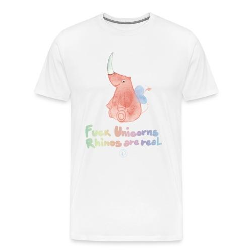F *** Unicorns - Men's Premium T-Shirt