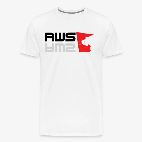 RWS logga - Premium-T-shirt herr
