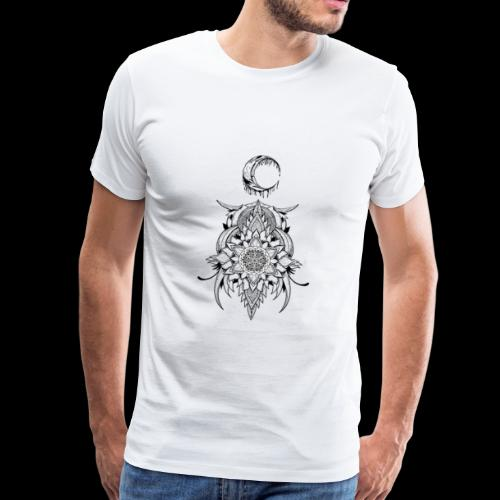 Der Mond - Männer Premium T-Shirt