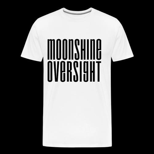 Moonshine Oversight noir - T-shirt Premium Homme