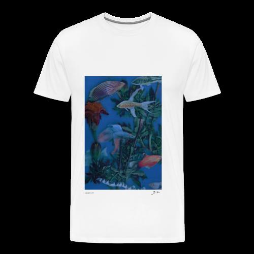 aquarium - T-shirt Premium Homme