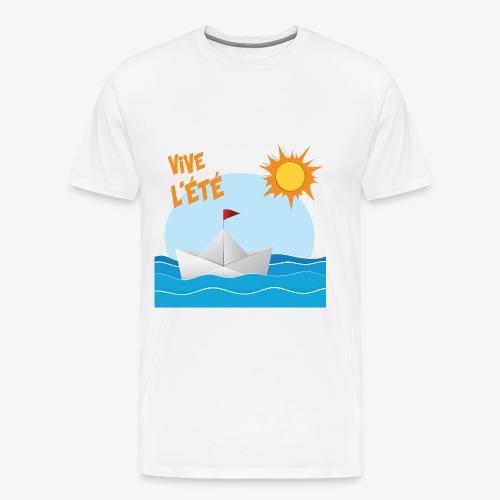 Vive l'été - T-shirt Premium Homme