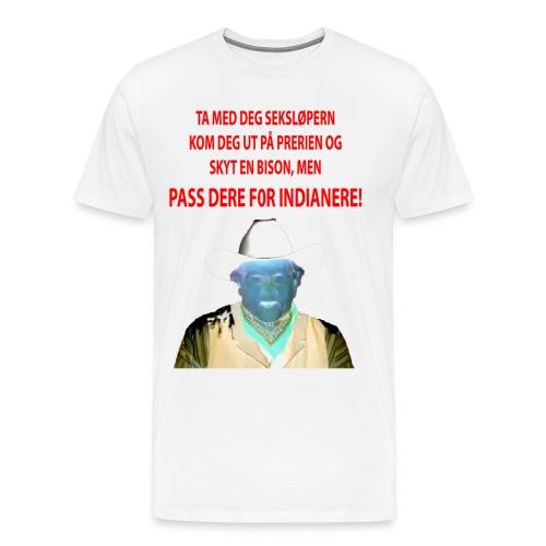 ta med deg seksløpern - Premium T-skjorte for menn