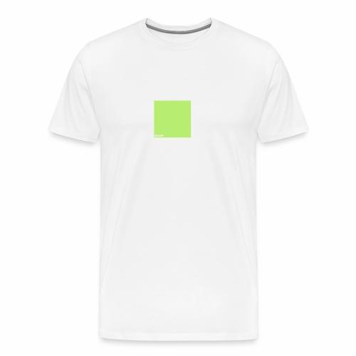 bigup wuerfel viereck quadrat geometrie minimal - Männer Premium T-Shirt