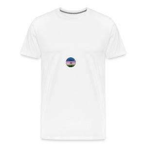Squirrel And Uni Hoesje - Mannen Premium T-shirt