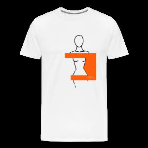 Woman Pittig - Mannen Premium T-shirt