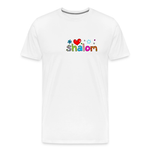 Shalom II - Männer Premium T-Shirt