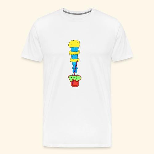 Flaschen Pop - Männer Premium T-Shirt