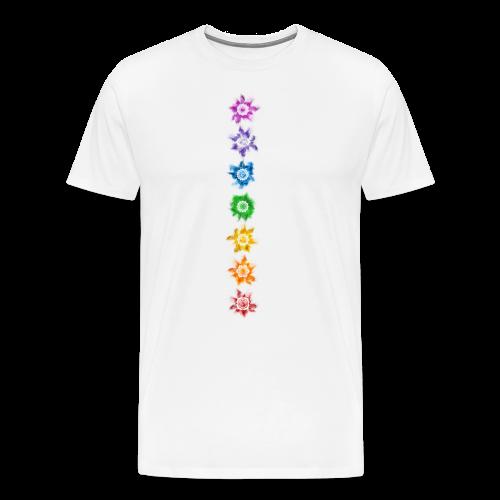 Chakra - Shirt - Männer Premium T-Shirt