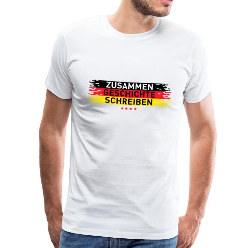 Weltmeisterschaft 2018 Zusammen Geschichte - Männer Premium T-Shirt