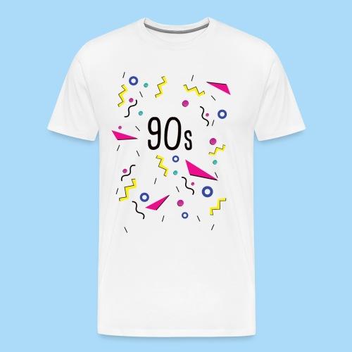 90er Jahre 90s - Männer Premium T-Shirt