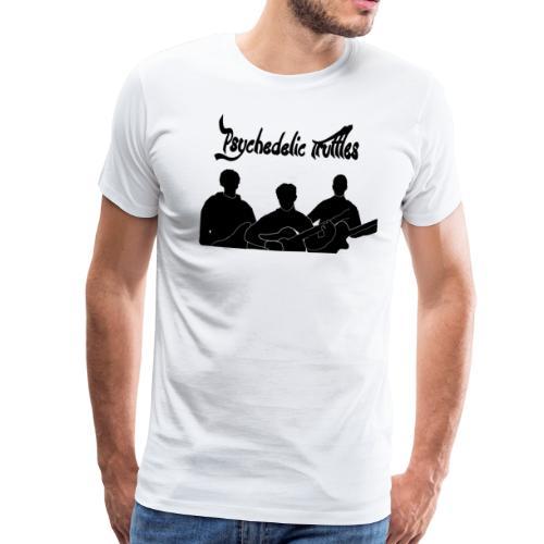 PsychedelicSilhouttes - Men's Premium T-Shirt
