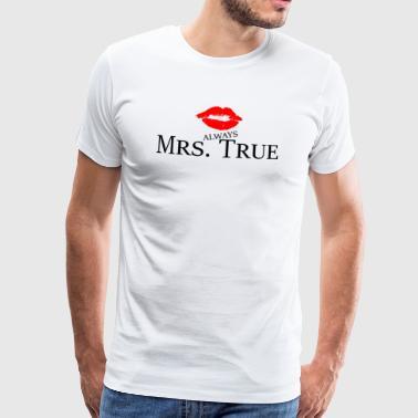 Toujours True Beauty Girl Power Idée Cadeau - T-shirt Premium Homme