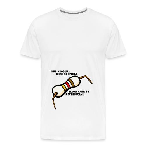 - ResistPotencial - - Camiseta premium hombre