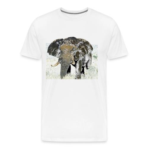 Elephant - Männer Premium T-Shirt