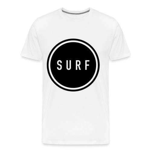 SURF MNML - Männer Premium T-Shirt