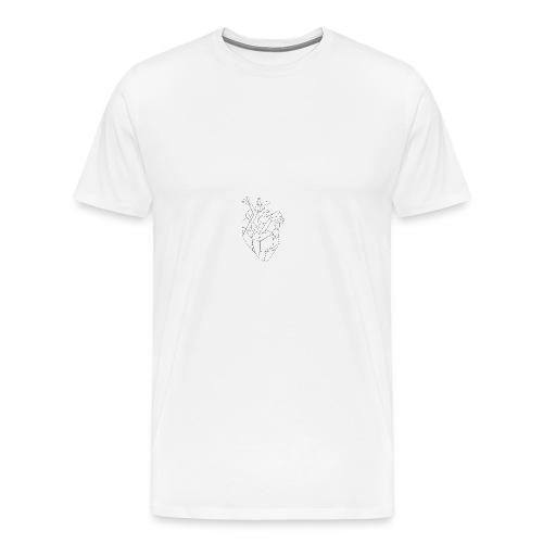 FNS - Coque Coeur - T-shirt Premium Homme