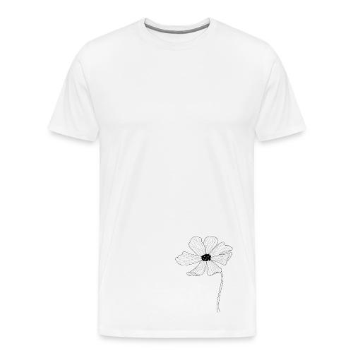 Simple flower design. - Men's Premium T-Shirt