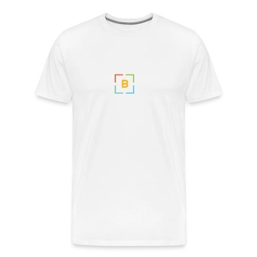 Best for Flest bare logo - Premium T-skjorte for menn