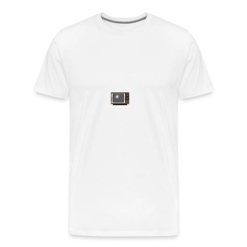 la télé - T-shirt Premium Homme