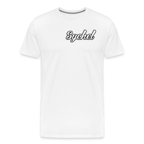 Sychel Handwriting Logo - Men's Premium T-Shirt