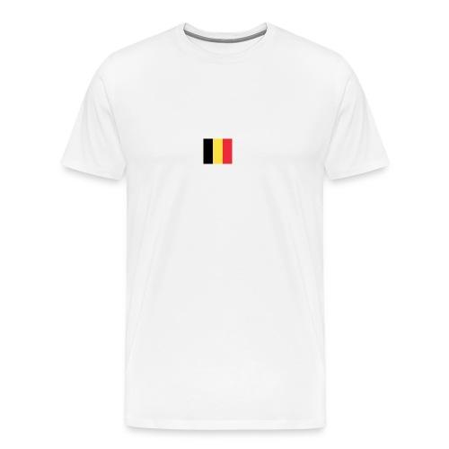 vlag be - Mannen Premium T-shirt